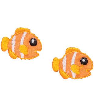 Simplicity Iron-On Appliques 2/Pkg-Clownfish