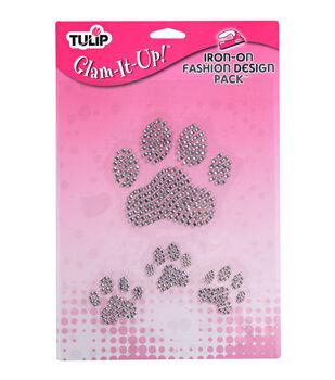 Tulip Iron-On Designs - Large Paws
