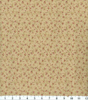 Premium Cotton Fabric-Tiny Roses Parfait, , hi-res