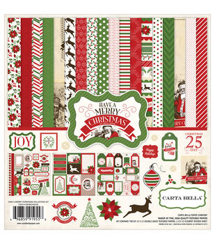Carta Bella Have A Merry Christmas Collection Kit