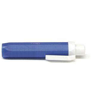 Plastic Chalk Holder W/Clip-Blue