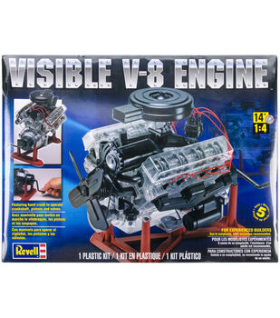 Plastic Model Kit-Visible V-8 Engine 1:25