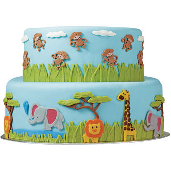 Wilton® Fondant Gum Paste Mold-Jungle Animals