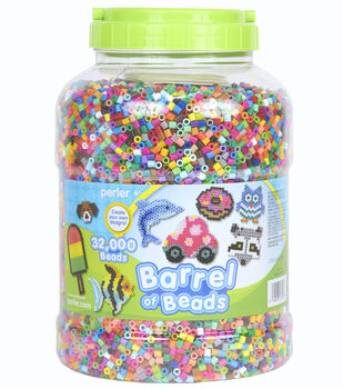 Perler® 32000-Pieces Barrel Beads