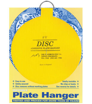 """Disc Plate Hanger 5.5""""-For Plates Up To 6.5 Lbs In Weight"""