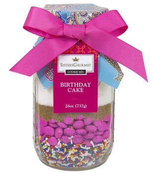Sisters' Gourmet Layered Cookie Mix, Olivia's Birthday Cake