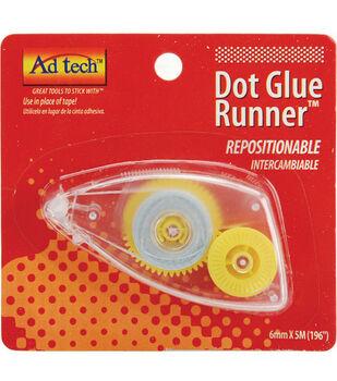 """Ad Tech 1/4""""x196"""" Glue Dot Runner-1PK/Repositional"""