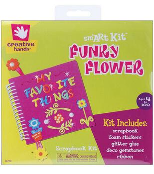 Fibrecraft Foam Scrapbook Kit-Funky Flower