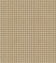 Legacy Studio™ Flannel Fabric-Houndstooth Tan, , hi-res