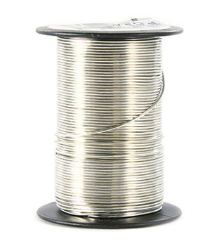 20 Gauge Wire 12 Yards/Pkg-Silver