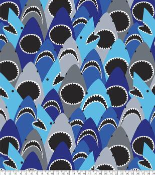 Anti-Pill Fleece Fabric-Shark Bite