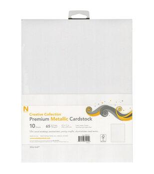 Neenah Paper 10pcs 8.5''x11'' Premium Metallic Cover Cardstock