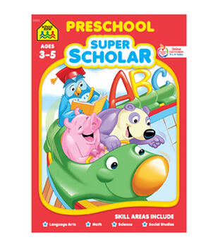 Super Scholar Workbook-Preschool