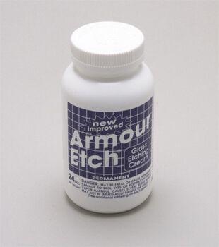 Armour Etch Glass Etching Cream-22 oz/Permanent
