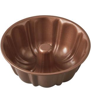 Wilton® Copper Retro Round Fluted Tube Pan