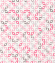 Cloud 9 Premium Cotton Fabric-Dolittles Geo Pink, , hi-res