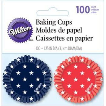 Wilton® Mini Cup Red White Blue 100ct