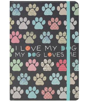 The 5 & Twine™ I Love My Dog Bound Journal