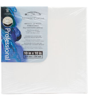 "Winsor & Newton Quality Stretched Canvas-10""X10"""