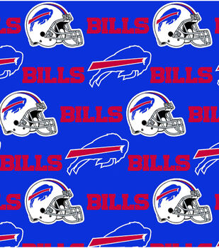 Buffalo Bills NFL Cotton Fabric by Fabric Traditions