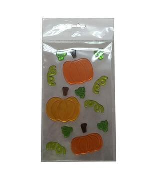 Art of Autumn Gel Cling-Pumpkin