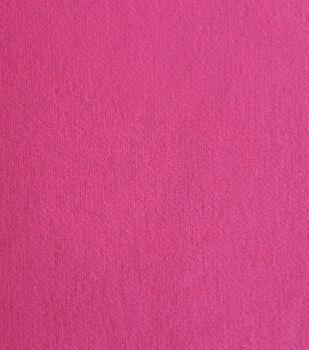 Sweatshirt Fleece Fabric-Pink Neon