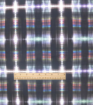 Nicole Miller Fabric-Scuba Knit Plaidelicious