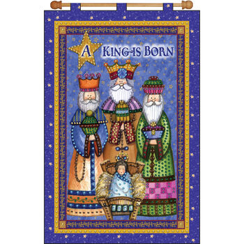 Design Works Jeweled Banner Kit A King Is Born