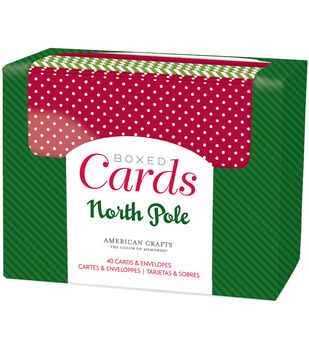 American Crafts™ A2 Cards & Envelopes-North Pole