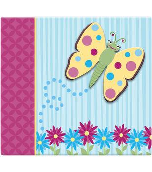 """3D Scrapbook 12""""x12-Butterfly"""