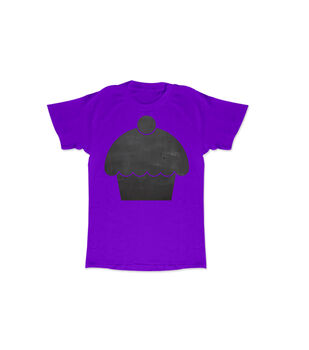 Purple Cupcake Chalk Tee