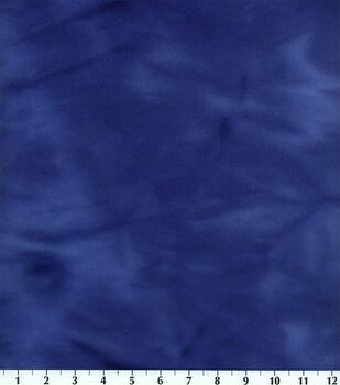 Blizzard Fleece Fabric-Royal Tie Dye
