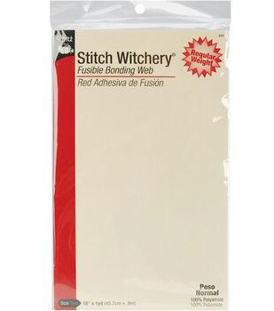 """Dritz 18"""" Wide x 1Yd Stitch Witchery Sheet"""