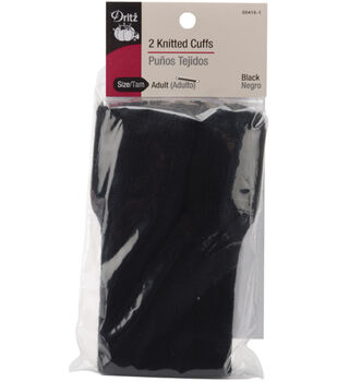 Dritz Adult Knitted Cuffs-2PK