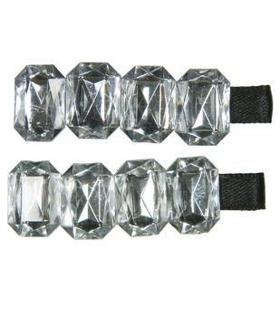 Laliberi Rhinestone Hair Crystal Clips