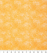 Keepsake Calico Cotton Fabric-Tonal Floral Orange, , hi-res
