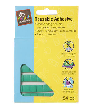 Busy Kids Learning Stick To It Reusable Adhesive