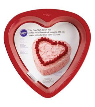 Wilton® Novelty Cake Pan-Red Heart