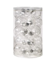 Fab Lab Pack of 25 Fillable Ornaments-Clear, , hi-res