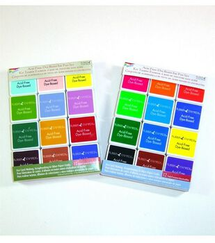 Rubber Stampede Dye Based Ink Pad Sets