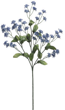 "Bloom Room 19"" Double Baby's Breath Spray Delphinium-Blue"