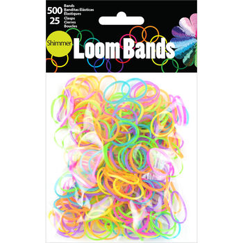 Loom Bands Shimmer Assortment 525pc