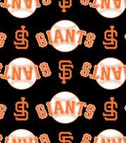 San Francisco Giants MLB  Ultra Fluffy Fleece Fabric, , hi-res