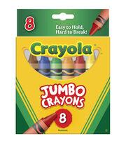 Crayola® 8pcs Jumbo Crayons, , hi-res