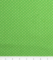 Keepsake Calico™ Cotton Fabric-Lined Dot Green, , hi-res