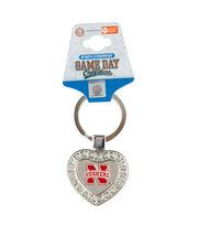 University of Nebraska NCAA Heart Keychain, , hi-res