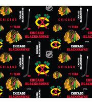 Chicago Blackhawks NHL Cotton Fabric, , hi-res
