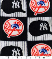 New York Yankees MLB Block Fleece Fabric, , hi-res