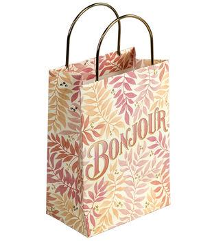 Jolee's Boutique Parisian Bonjour Small Gift Bag