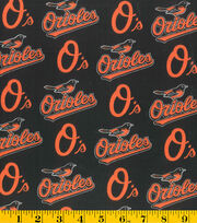 Baltimore Orioles MLB Cotton Fabric, , hi-res
